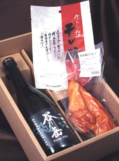 谷川岳限定吟醸酒&育風堂ジャーキーセット