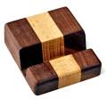 ヨシモク 木製タブレットスタンド 3ライン