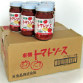 ヒカリ 有機トマトソース ガーリック&バジル風味 225g瓶×12本