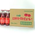 ヒカリ 有機トマトピューレー 320gガラス瓶×12本箱