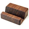 ヨシモク 木製スマートフォンスタンド ウォールナット