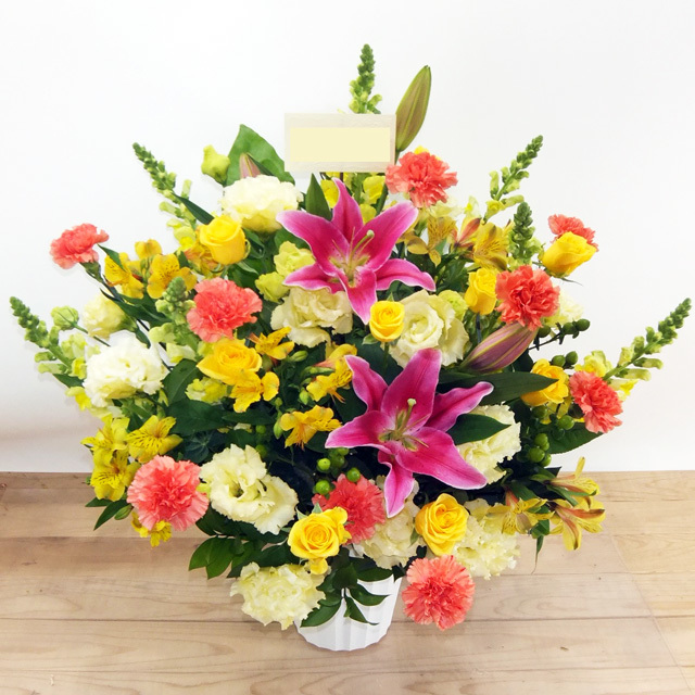 生花アレンジメント