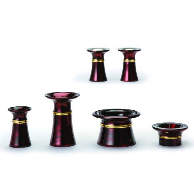 仏具セット きずな ワイン 6具足 真鍮製