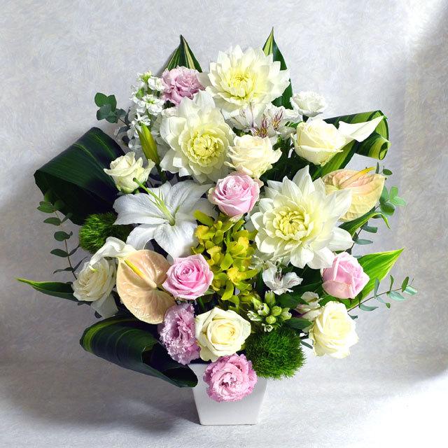 生花アレンジメント【白系】