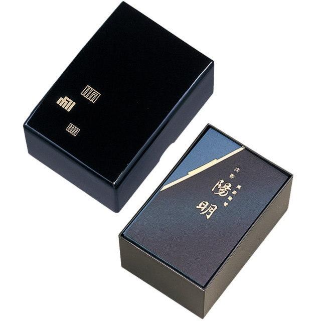香りの手文庫シリーズ 進物用お線香 陽明 ようめい (玉初堂) ※文庫型木製塗箱