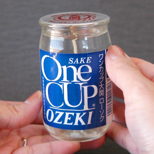 ワンカップ大関キャンドル (カメヤマ)【お届け先地域毎に送料が加算されます】