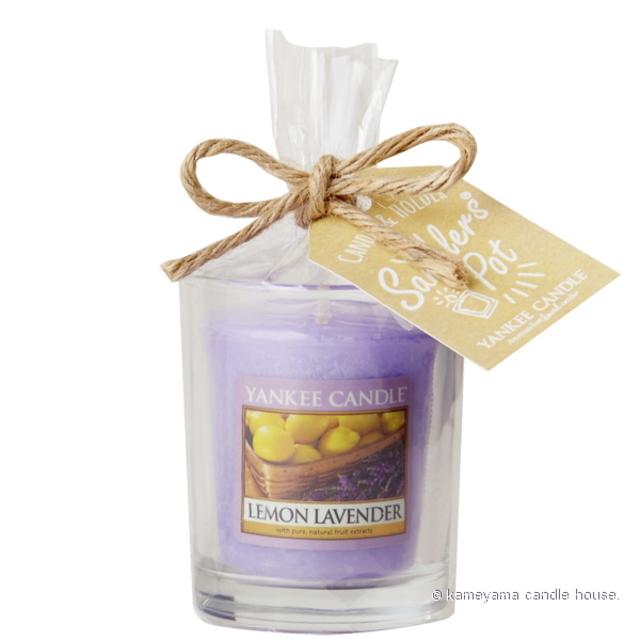yankee,candle,samplers,pot,ヤンキーキャンドル,サンプラー,ポット,アロマ,lemon,lavender,レモンラベンダー