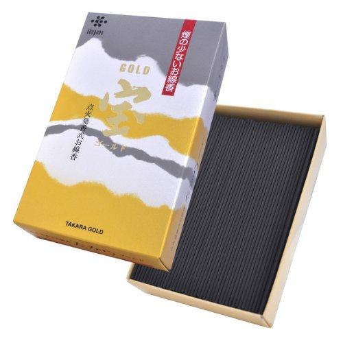 薫寿堂のお線香 宝ゴールド #004