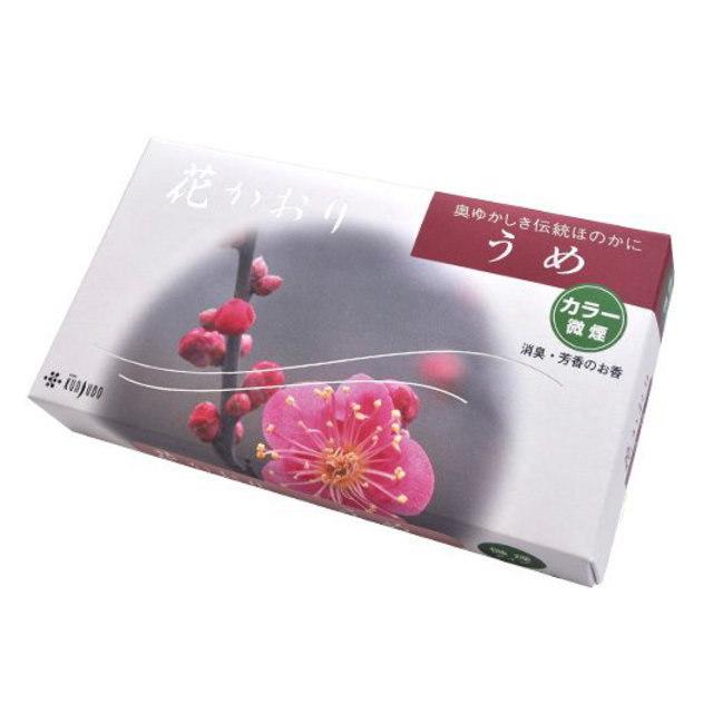 薫寿堂のお線香 花かおり梅 微煙タイプ #636