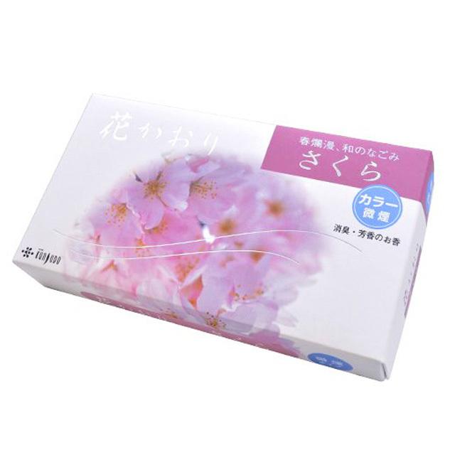 薫寿堂のお線香 花かおり桜 微煙タイプ #638