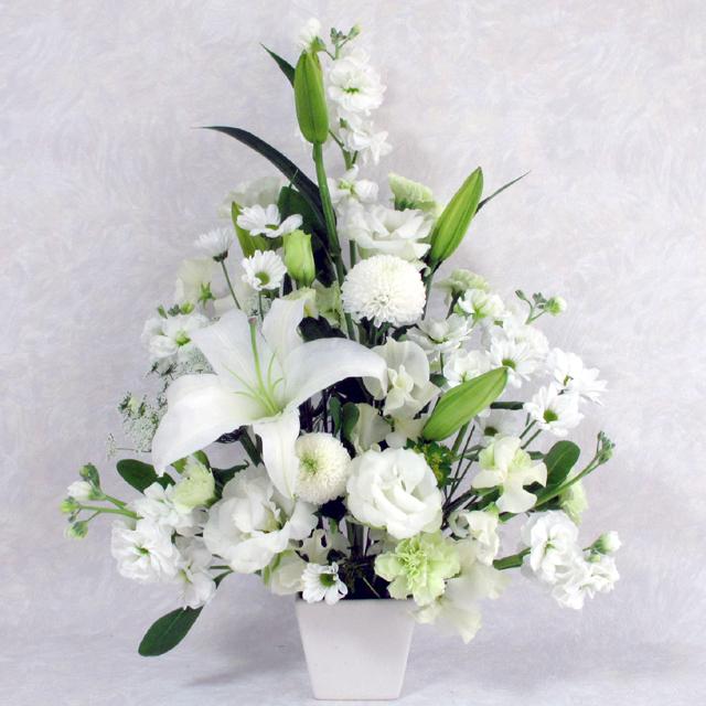 お供え,御供え,花,アレンジメント,供花,仏花,フラワー