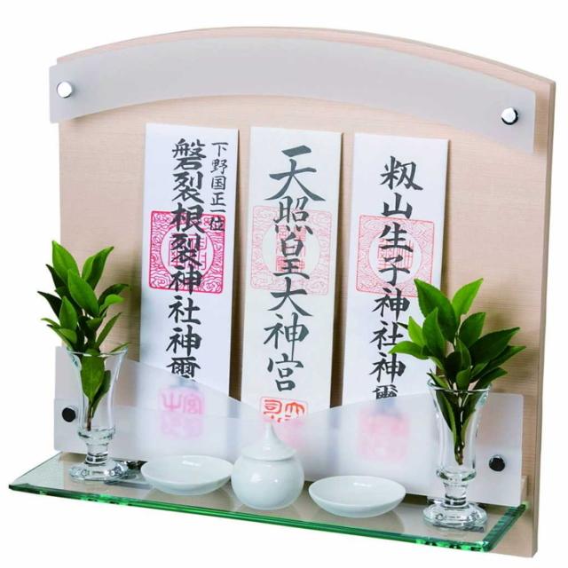 神棚 壁掛けタイプ 標準サイズ ヒノキ 檜 Neo 410-G