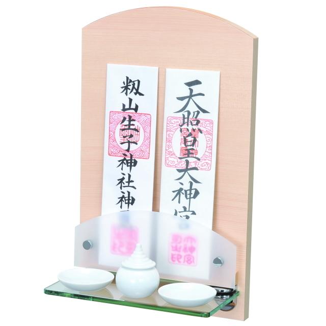 神棚 壁掛けタイプ ミニサイズ リビング用 モダン ヒノキ Neo ミニ シンプル デザイン 国産 お供え
