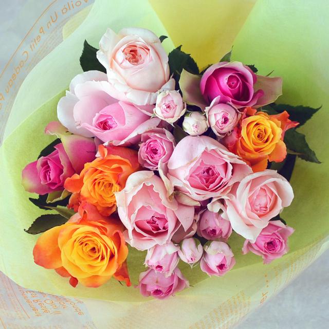 バラの花束 【ミックス】