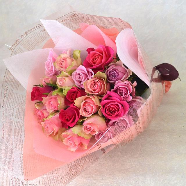 バラの花束【ミックス】