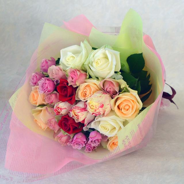 バラの花束 【デザイナーにおまかせ】