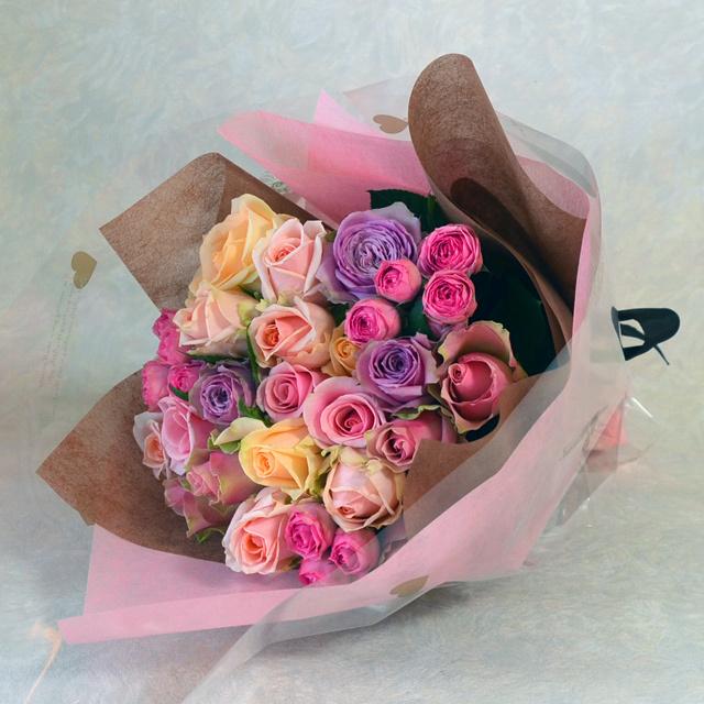 バラの花束 バラ デザイナーにおまかせ
