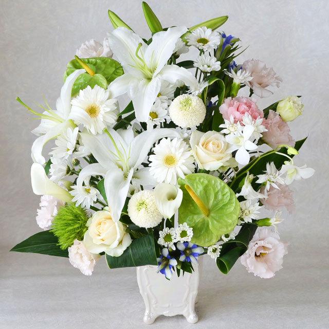 お供え,御供え,アレンジメント,供花,仏花,フラワー