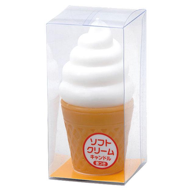 ソフトクリーム キャンドル
