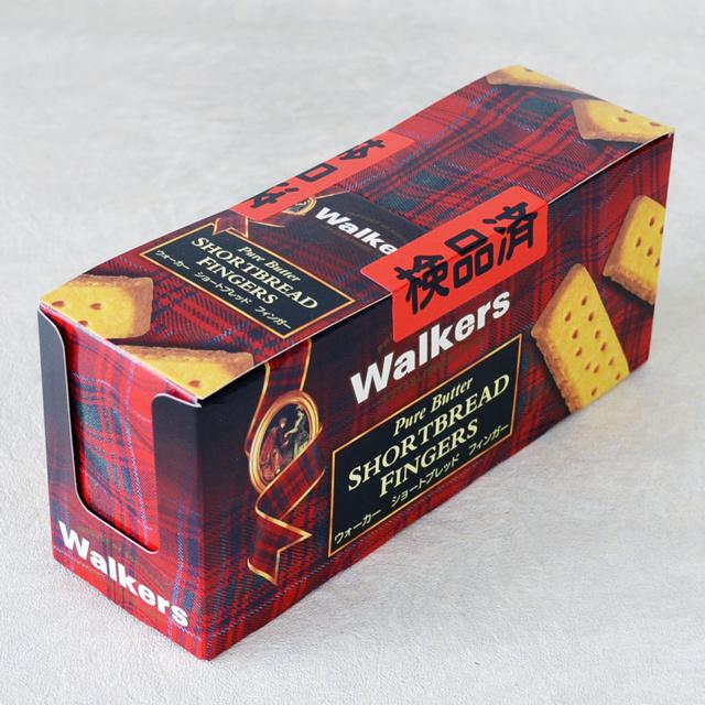 ショートブレッド フィンガー  (ウォーカー / 英国)1箱;12個入り(2個入り/個包装)