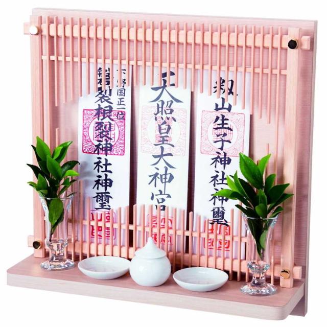 神棚 壁掛けタイプ 標準サイズ ヒノキ 檜 Neo 510-W
