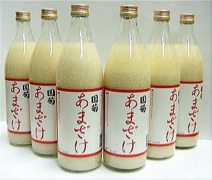 蔵元が造る国菊甘酒 2008年モンドセレクション金賞受賞