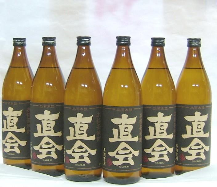 九州限定販売 麦焼酎 直会~なおらい~900ml 25度