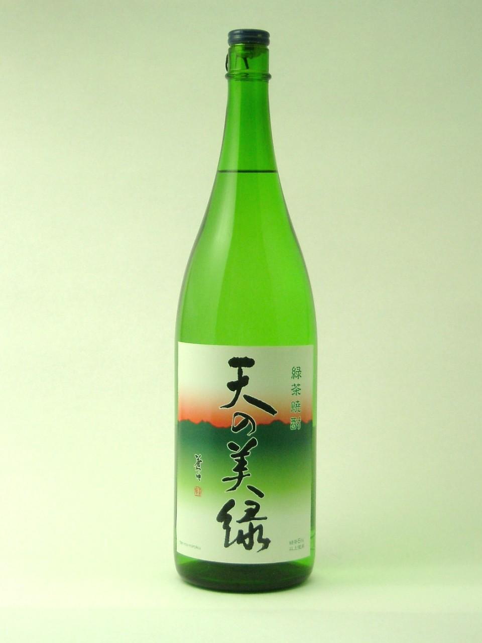 八女緑茶焼酎 25度1800ml