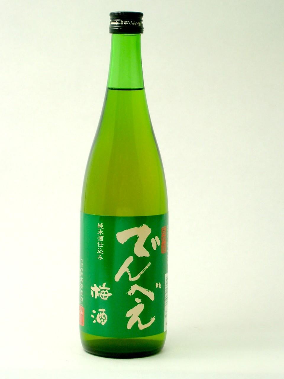 純米酒仕込 でんべい梅酒720ml