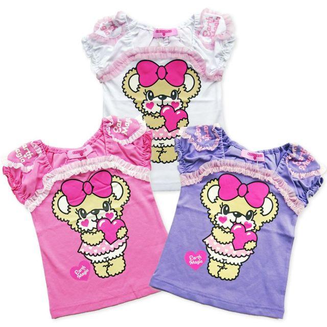 【セール対象外】EARTHMAGIC(アースマジック) LoveletterMaffyプリントTシャツ