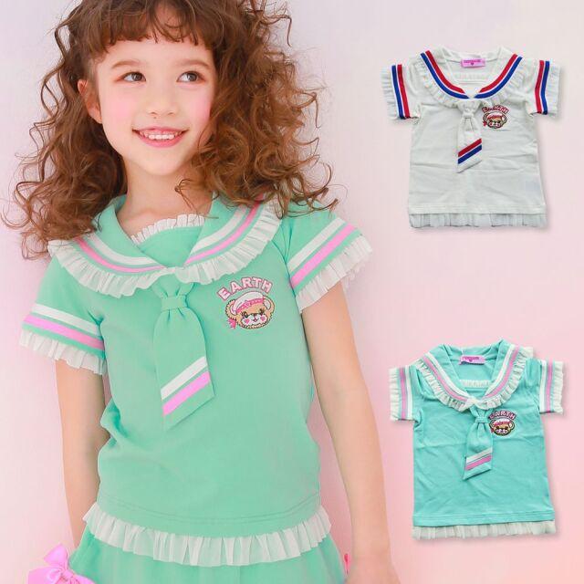 EARTHMAGIC(アースマジック) マリーンマフィー セーラーカラー Tシャツ