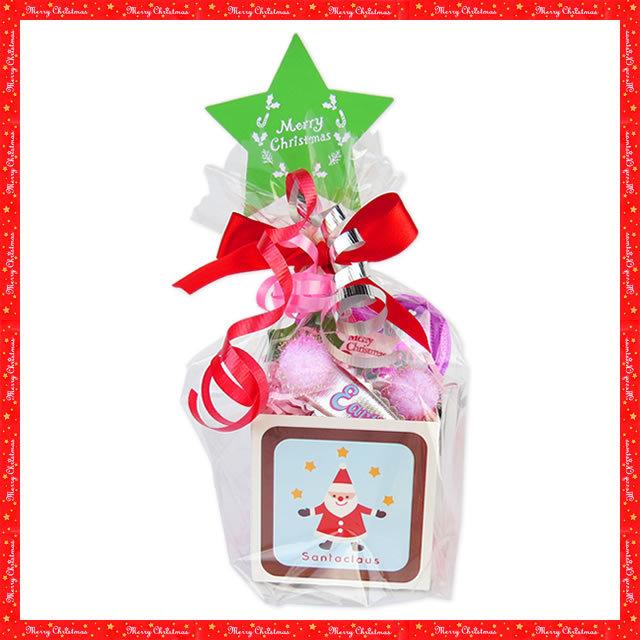 【メール便・ネコポス便不可】オリジナルクリスマスラッピング【キューブカップ】