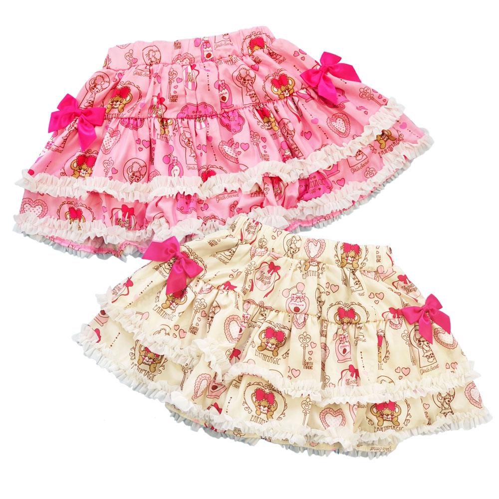 【セール対象外】アースマジック EARTHMAGIC Perfume Maffy 総柄 スカート 2020春夏