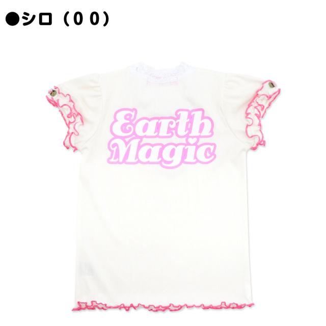 アースマジック EARTHMAGIC スウィートローズマフィー Tシャツ 2021春夏