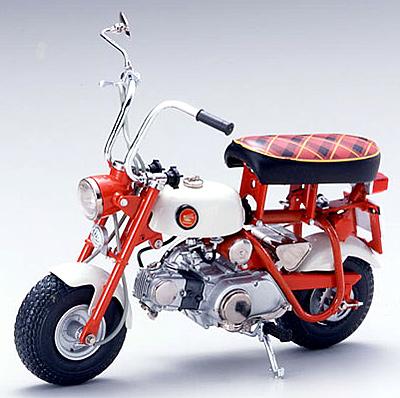 【10002】1/10 HONDA MONKEY Z50M 1968 (RED)