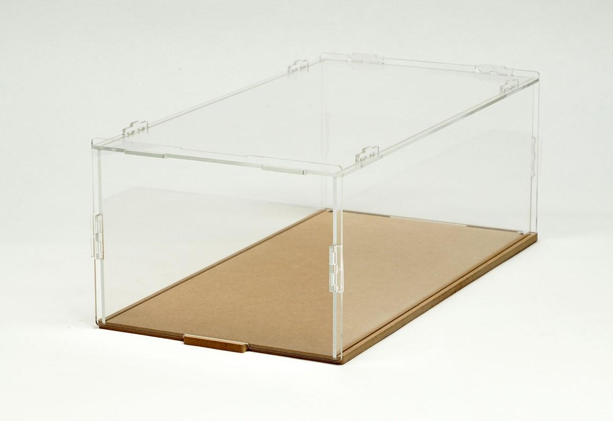 【15037】PIT BOX 1台用 組立式アクリルカバーセット(積み重ね可能)