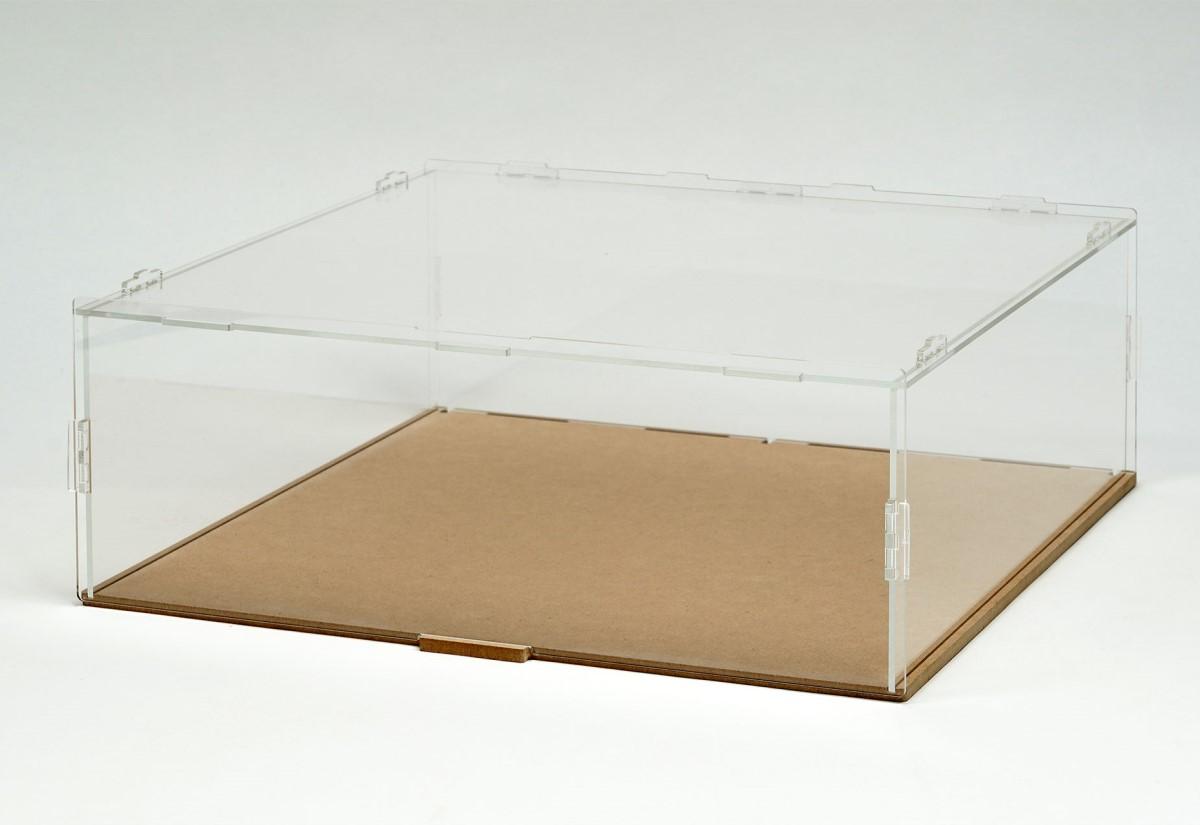 【15038】PIT BOX 2台用 組立式アクリルカバーセット(積み重ね可能)