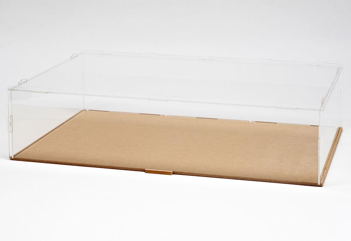【15039】PIT BOX 3台用 組立式アクリルカバーセット(積み重ね可能)