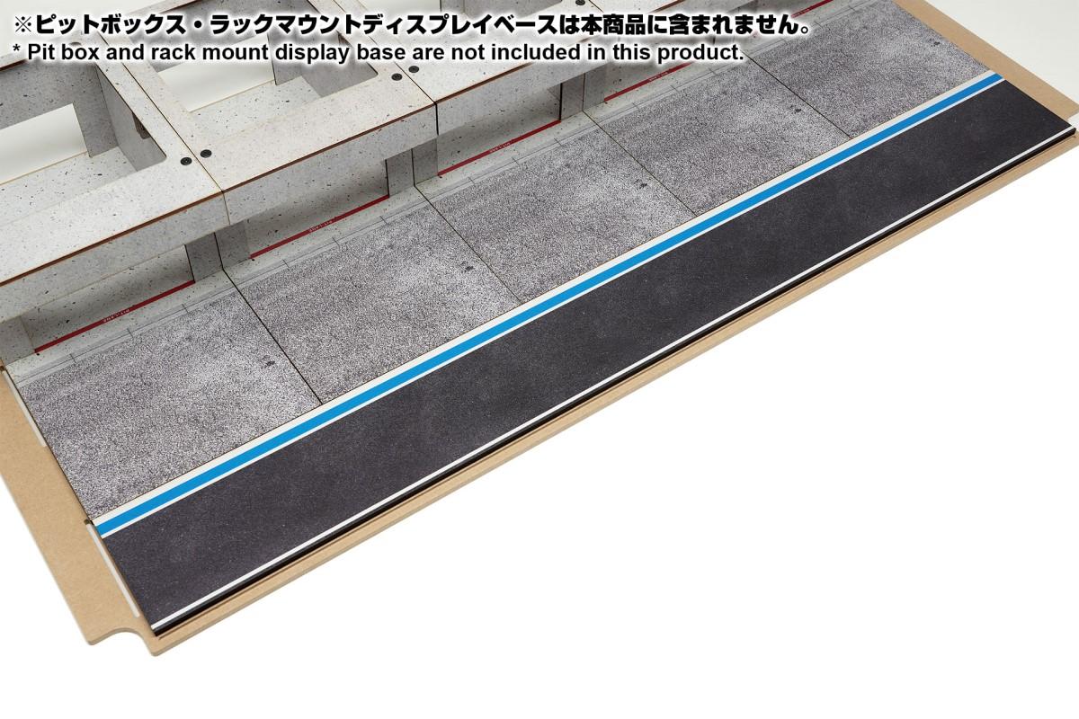 【15044】ラックマウント式アクリルカバーセット用ピットロードAタイプ
