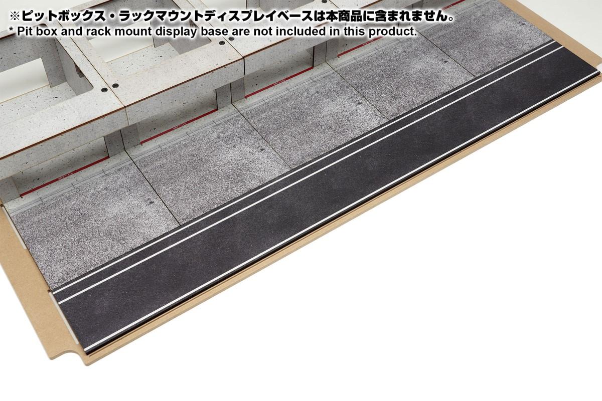 【15045】ラックマウント式アクリルカバーセット用ピットロードBタイプ