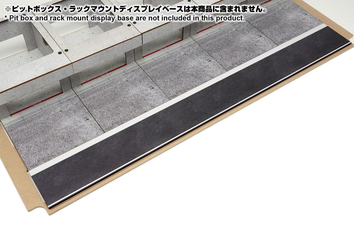 【15046】ラックマウント式アクリルカバーセット用ピットロードCタイプ
