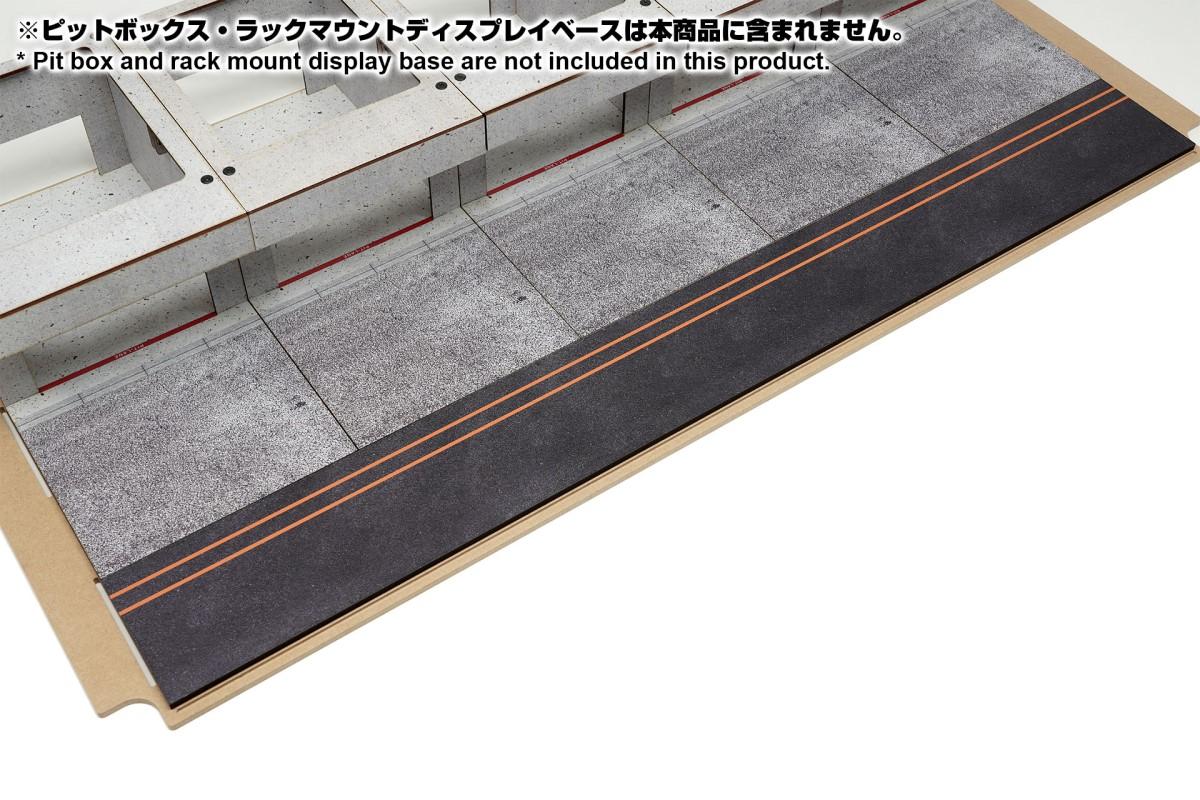 【15047】ラックマウント式アクリルカバーセット用ピットロードDタイプ