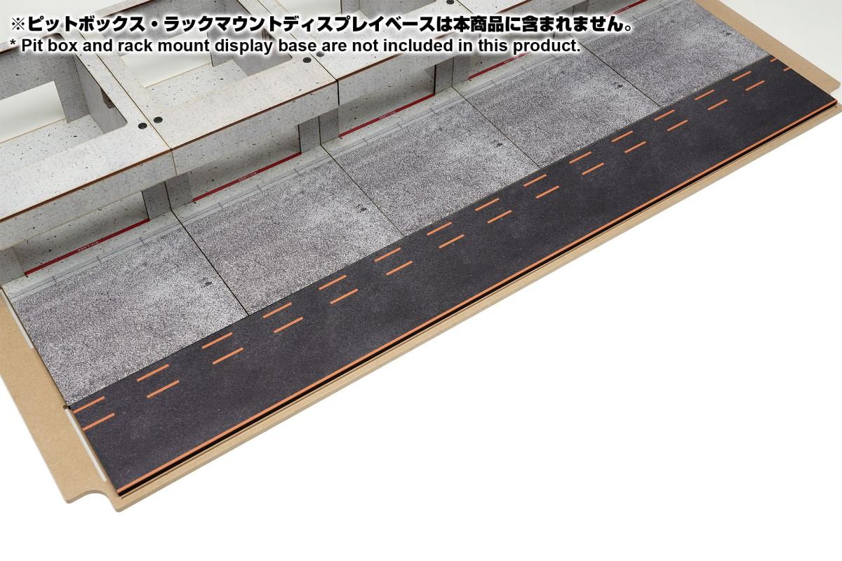 【15048】ラックマウント式アクリルカバーセット用ピットロードEタイプ
