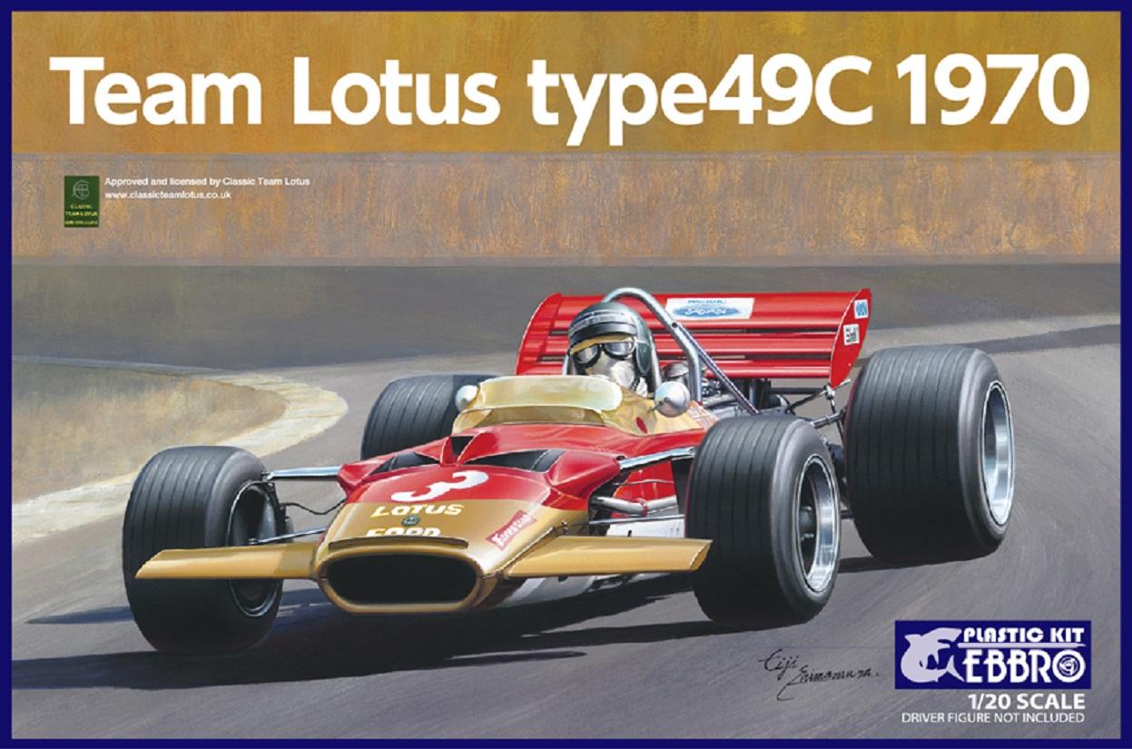 【20006】1/20 Team Lotus Type 49C 1970