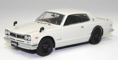 【44026】NISSAN SKYLINE GT-R KPGC10 (WHITE)