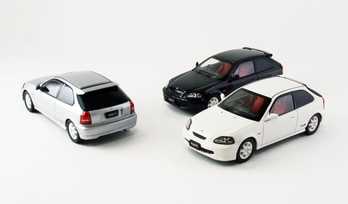 【44835】Honda Civic type R EK9 early version (WHITE)