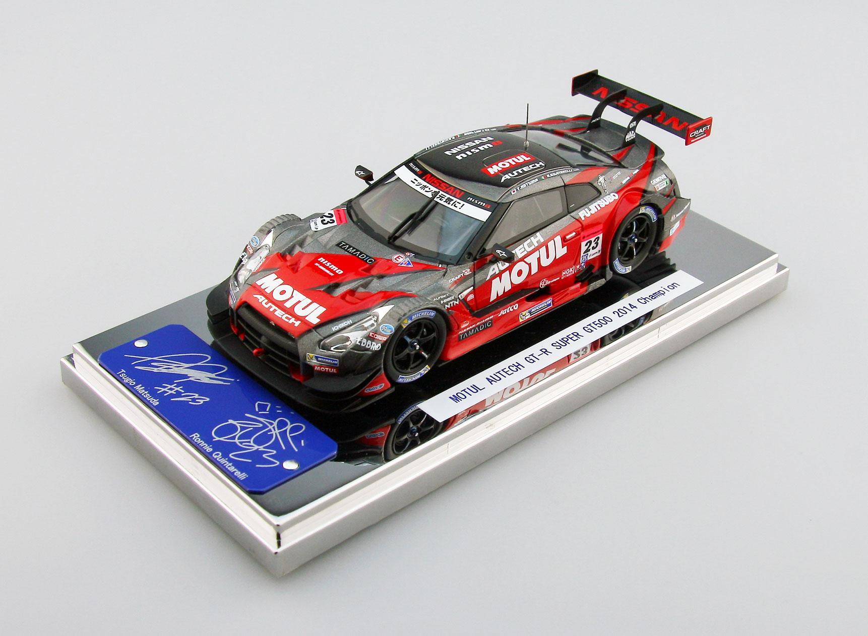 【45107】MOTUL AUTECH GT-R SUPER GT500 2014 No.23 Champion Car