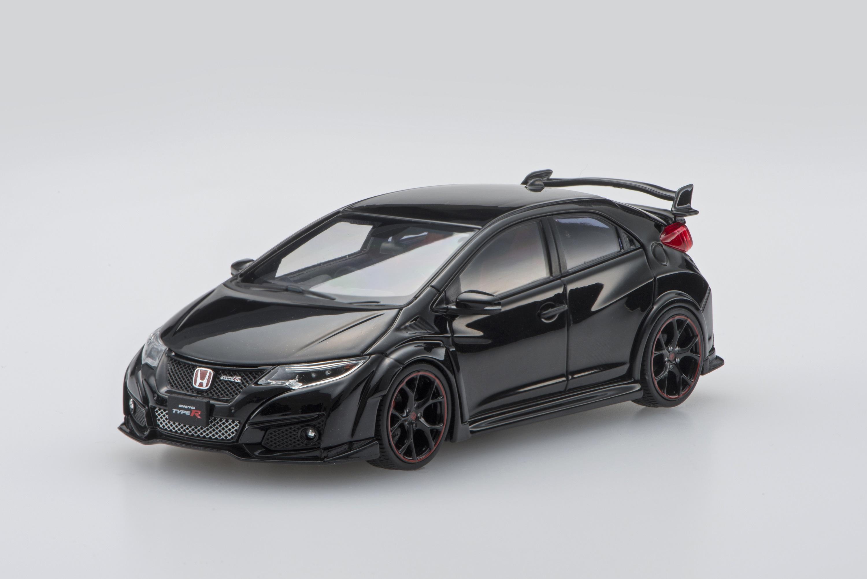 【45367】Honda CIVIC TYPE R 2015 【Japanese License Plate】 (Crystal Black Pearl)