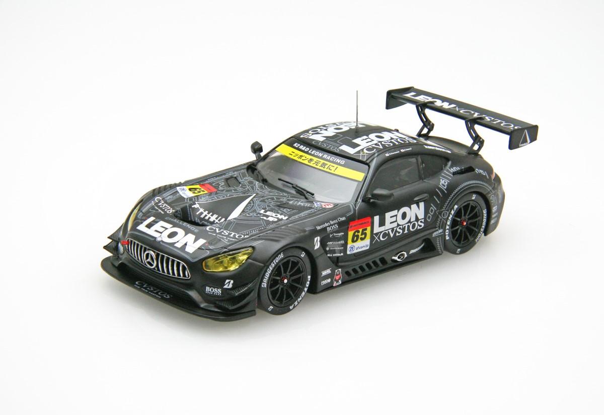 【45622】LEON CVSTOS AMG SUPER GT GT300 2018 Champion Car No.65