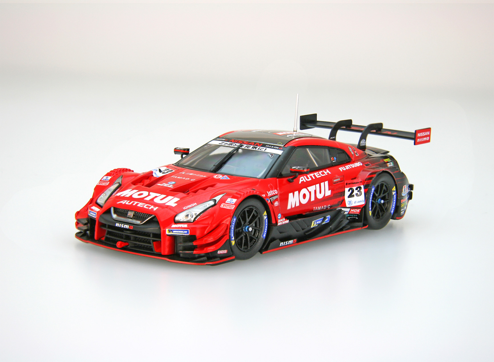 【45623】MOTUL AUTECH GT-R SUPER GT GT500 2018 No.23